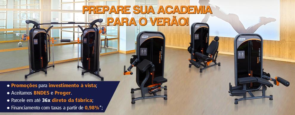Prepare sua Academia para o Verão