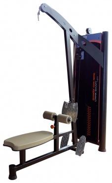 Musculação - Puxador Costas com Remo Máquina - LSL-066